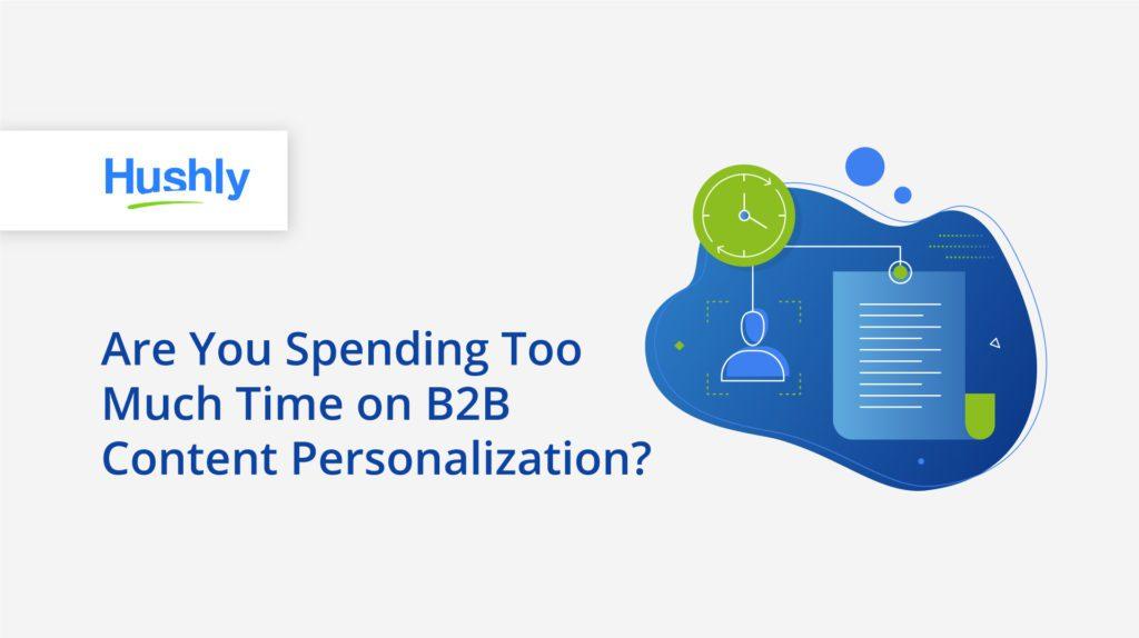 B2B content personalization