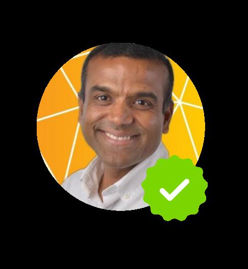 """<p style=""""margin-top: 10px; text-align: center;"""">Rajesh Kadam, AI & Conversational Marketing at Sage Intacct</p>"""